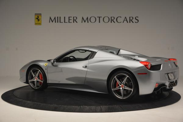 Used 2013 Ferrari 458 Spider for sale Sold at Pagani of Greenwich in Greenwich CT 06830 16