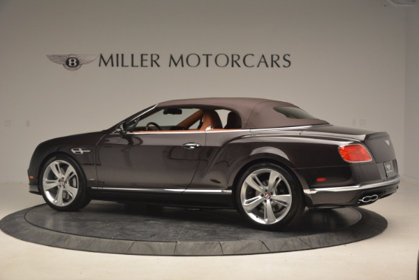 Used 2017 Bentley Continental GTC V8 S for sale Sold at Pagani of Greenwich in Greenwich CT 06830 16