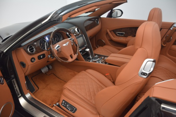 Used 2017 Bentley Continental GTC V8 S for sale Sold at Pagani of Greenwich in Greenwich CT 06830 27
