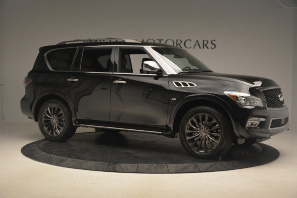 Used 2015 INFINITI QX80 Limited 4WD for sale Sold at Pagani of Greenwich in Greenwich CT 06830 10