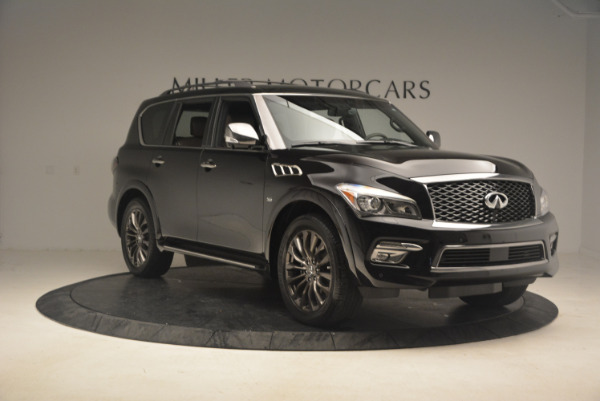 Used 2015 INFINITI QX80 Limited 4WD for sale Sold at Pagani of Greenwich in Greenwich CT 06830 11