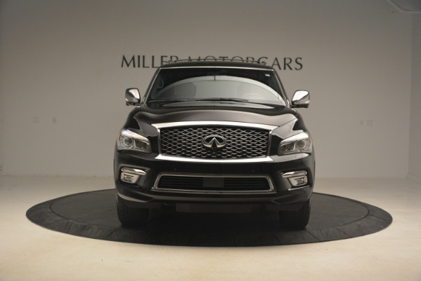 Used 2015 INFINITI QX80 Limited 4WD for sale Sold at Pagani of Greenwich in Greenwich CT 06830 12