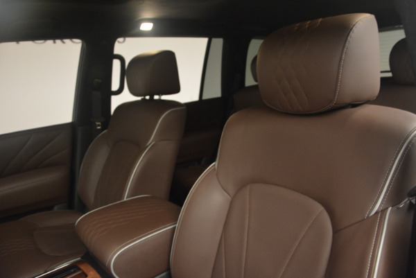 Used 2015 INFINITI QX80 Limited 4WD for sale Sold at Pagani of Greenwich in Greenwich CT 06830 13