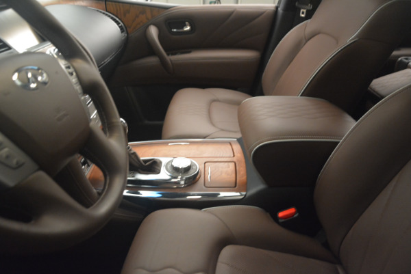 Used 2015 INFINITI QX80 Limited 4WD for sale Sold at Pagani of Greenwich in Greenwich CT 06830 14
