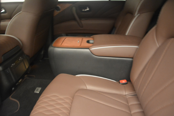 Used 2015 INFINITI QX80 Limited 4WD for sale Sold at Pagani of Greenwich in Greenwich CT 06830 18
