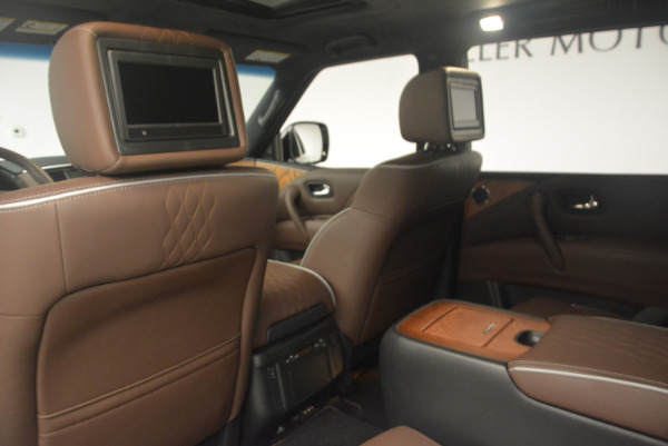 Used 2015 INFINITI QX80 Limited 4WD for sale Sold at Pagani of Greenwich in Greenwich CT 06830 19
