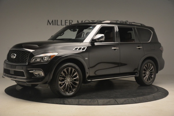 Used 2015 INFINITI QX80 Limited 4WD for sale Sold at Pagani of Greenwich in Greenwich CT 06830 2