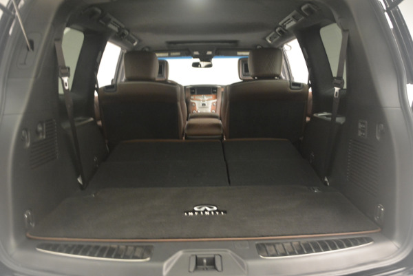 Used 2015 INFINITI QX80 Limited 4WD for sale Sold at Pagani of Greenwich in Greenwich CT 06830 22