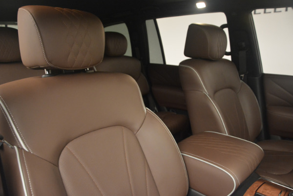 Used 2015 INFINITI QX80 Limited 4WD for sale Sold at Pagani of Greenwich in Greenwich CT 06830 24