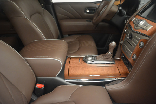 Used 2015 INFINITI QX80 Limited 4WD for sale Sold at Pagani of Greenwich in Greenwich CT 06830 25
