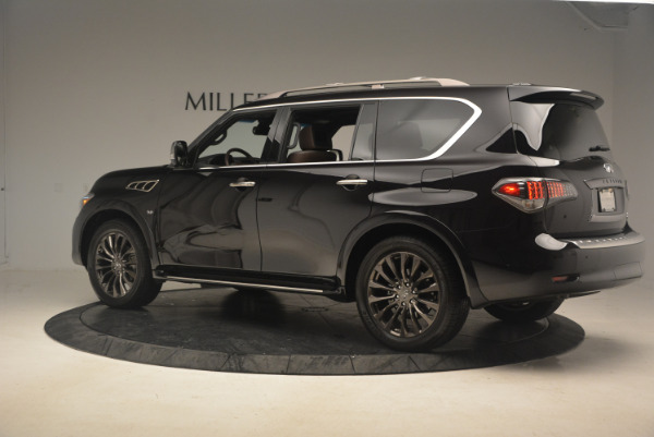 Used 2015 INFINITI QX80 Limited 4WD for sale Sold at Pagani of Greenwich in Greenwich CT 06830 4