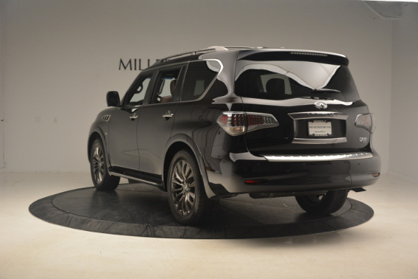 Used 2015 INFINITI QX80 Limited 4WD for sale Sold at Pagani of Greenwich in Greenwich CT 06830 5