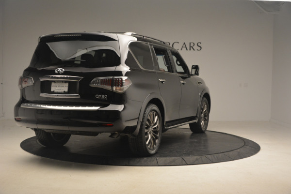 Used 2015 INFINITI QX80 Limited 4WD for sale Sold at Pagani of Greenwich in Greenwich CT 06830 7