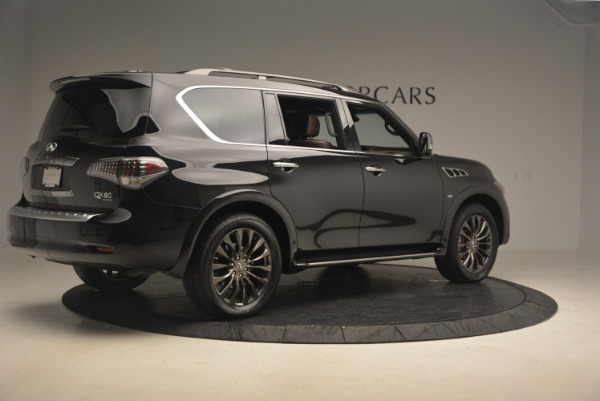 Used 2015 INFINITI QX80 Limited 4WD for sale Sold at Pagani of Greenwich in Greenwich CT 06830 8
