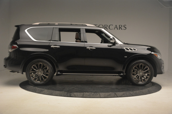 Used 2015 INFINITI QX80 Limited 4WD for sale Sold at Pagani of Greenwich in Greenwich CT 06830 9
