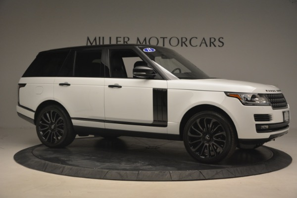 Used 2015 Land Rover Range Rover Supercharged for sale Sold at Pagani of Greenwich in Greenwich CT 06830 10