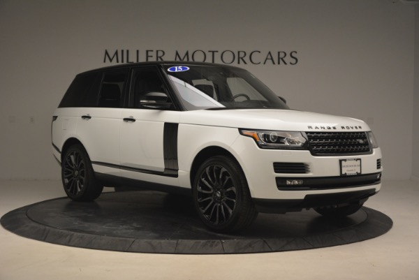 Used 2015 Land Rover Range Rover Supercharged for sale Sold at Pagani of Greenwich in Greenwich CT 06830 11