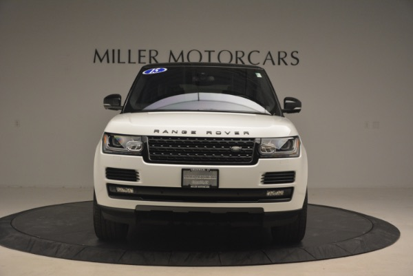 Used 2015 Land Rover Range Rover Supercharged for sale Sold at Pagani of Greenwich in Greenwich CT 06830 12