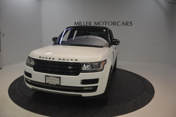 Used 2015 Land Rover Range Rover Supercharged for sale Sold at Pagani of Greenwich in Greenwich CT 06830 13
