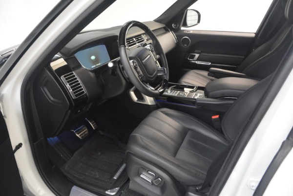 Used 2015 Land Rover Range Rover Supercharged for sale Sold at Pagani of Greenwich in Greenwich CT 06830 17