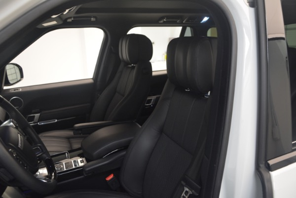 Used 2015 Land Rover Range Rover Supercharged for sale Sold at Pagani of Greenwich in Greenwich CT 06830 19