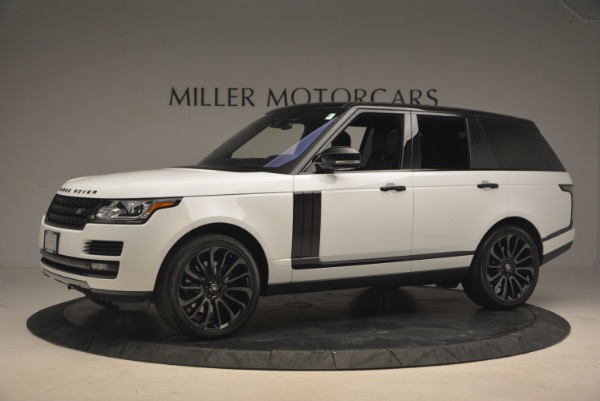 Used 2015 Land Rover Range Rover Supercharged for sale Sold at Pagani of Greenwich in Greenwich CT 06830 2