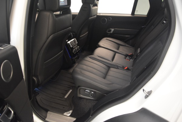 Used 2015 Land Rover Range Rover Supercharged for sale Sold at Pagani of Greenwich in Greenwich CT 06830 23