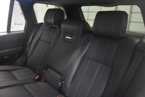 Used 2015 Land Rover Range Rover Supercharged for sale Sold at Pagani of Greenwich in Greenwich CT 06830 25
