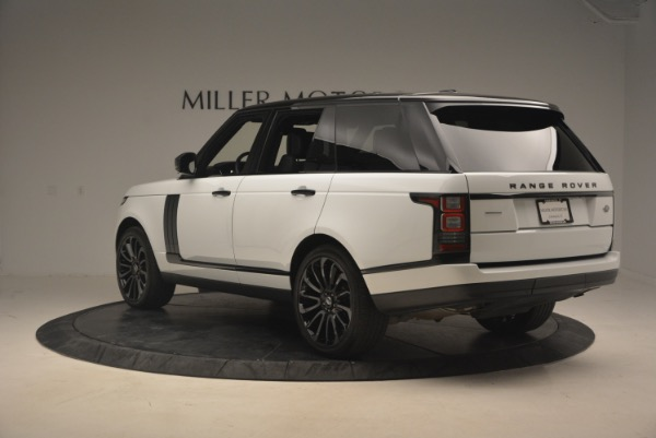 Used 2015 Land Rover Range Rover Supercharged for sale Sold at Pagani of Greenwich in Greenwich CT 06830 5
