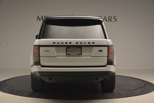 Used 2015 Land Rover Range Rover Supercharged for sale Sold at Pagani of Greenwich in Greenwich CT 06830 6