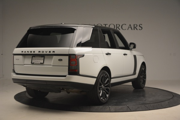 Used 2015 Land Rover Range Rover Supercharged for sale Sold at Pagani of Greenwich in Greenwich CT 06830 7
