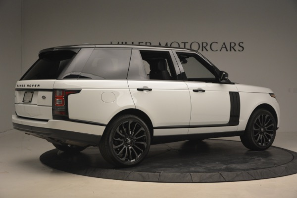 Used 2015 Land Rover Range Rover Supercharged for sale Sold at Pagani of Greenwich in Greenwich CT 06830 8