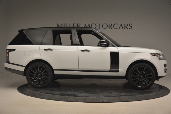 Used 2015 Land Rover Range Rover Supercharged for sale Sold at Pagani of Greenwich in Greenwich CT 06830 9