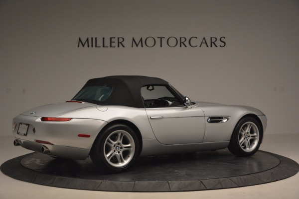 Used 2001 BMW Z8 for sale Sold at Pagani of Greenwich in Greenwich CT 06830 20