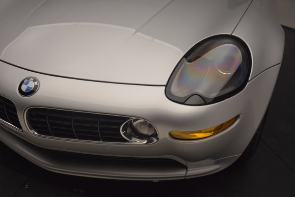 Used 2001 BMW Z8 for sale Sold at Pagani of Greenwich in Greenwich CT 06830 26