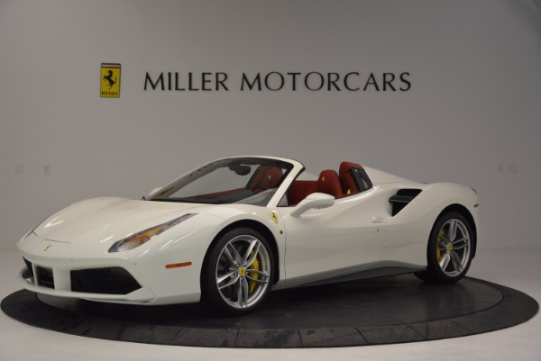 Used 2017 Ferrari 488 Spider for sale Sold at Pagani of Greenwich in Greenwich CT 06830 2