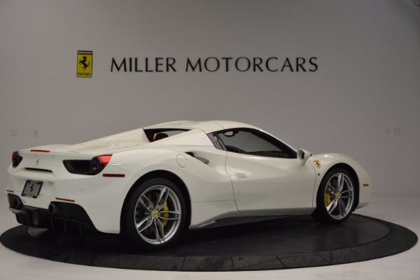 Used 2017 Ferrari 488 Spider for sale Sold at Pagani of Greenwich in Greenwich CT 06830 20