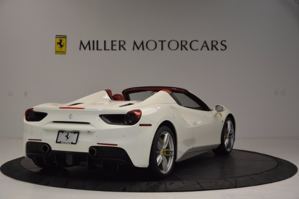 Used 2017 Ferrari 488 Spider for sale Sold at Pagani of Greenwich in Greenwich CT 06830 7