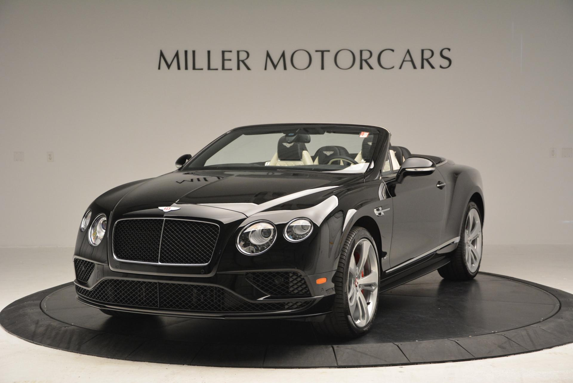 New 2016 Bentley Continental GT V8 S Convertible for sale Sold at Pagani of Greenwich in Greenwich CT 06830 1
