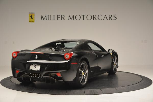 Used 2012 Ferrari 458 Spider for sale Sold at Pagani of Greenwich in Greenwich CT 06830 19