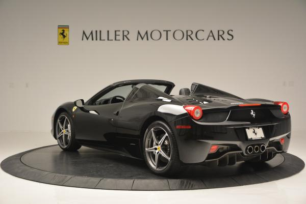 Used 2012 Ferrari 458 Spider for sale Sold at Pagani of Greenwich in Greenwich CT 06830 5