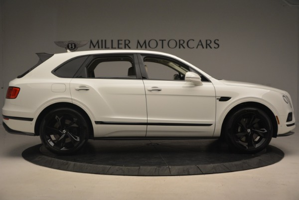 Used 2018 Bentley Bentayga Black Edition for sale Sold at Pagani of Greenwich in Greenwich CT 06830 9
