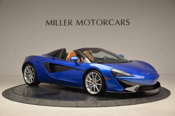 Used 2018 McLaren 570S Spider for sale Call for price at Pagani of Greenwich in Greenwich CT 06830 10