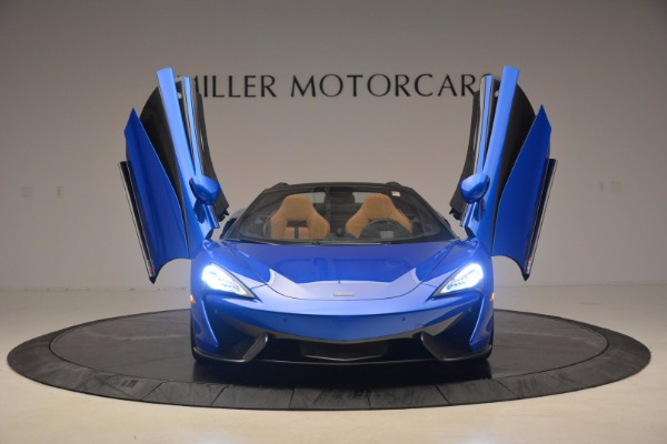 Used 2018 McLaren 570S Spider for sale Call for price at Pagani of Greenwich in Greenwich CT 06830 13