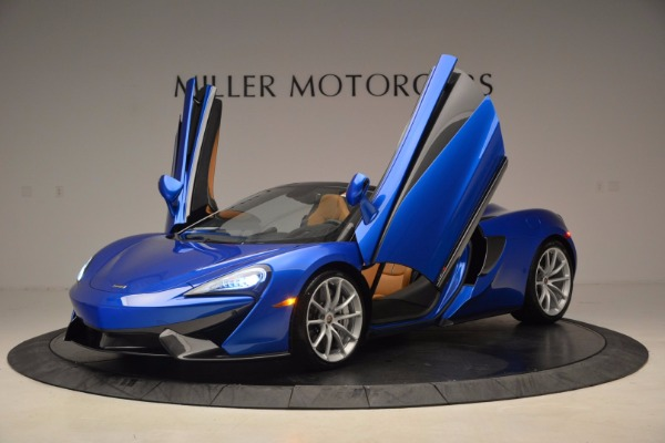 Used 2018 McLaren 570S Spider for sale Call for price at Pagani of Greenwich in Greenwich CT 06830 14