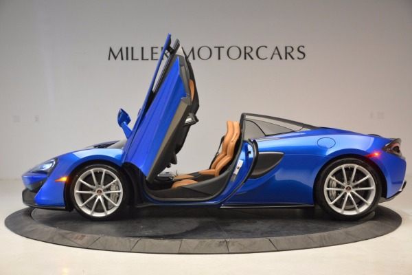 Used 2018 McLaren 570S Spider for sale Call for price at Pagani of Greenwich in Greenwich CT 06830 15