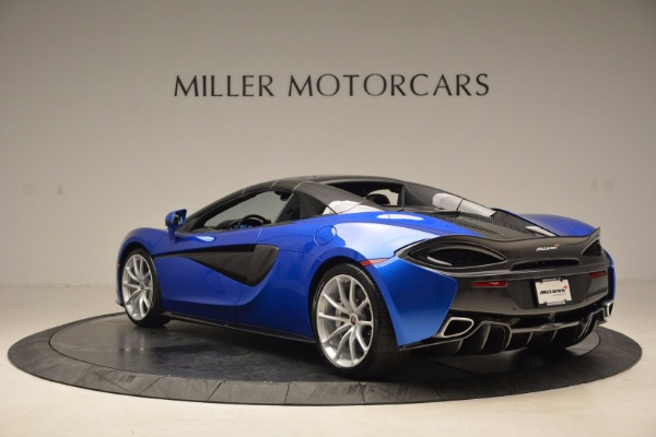 Used 2018 McLaren 570S Spider for sale Call for price at Pagani of Greenwich in Greenwich CT 06830 17