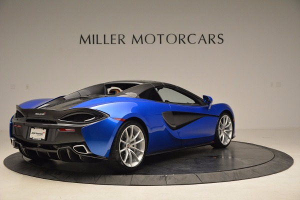 Used 2018 McLaren 570S Spider for sale Call for price at Pagani of Greenwich in Greenwich CT 06830 19