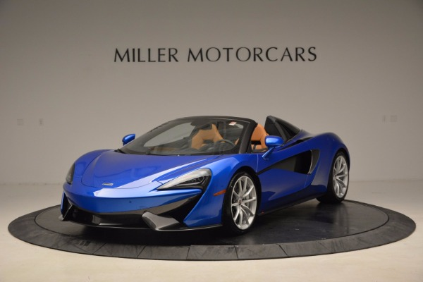 Used 2018 McLaren 570S Spider for sale Call for price at Pagani of Greenwich in Greenwich CT 06830 2