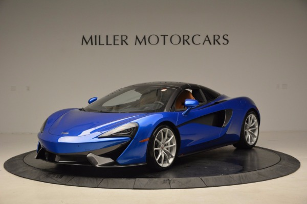Used 2018 McLaren 570S Spider for sale Call for price at Pagani of Greenwich in Greenwich CT 06830 23